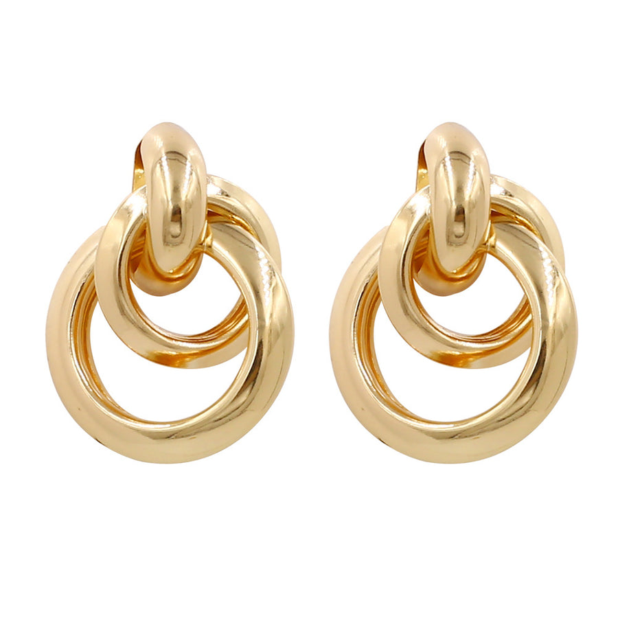 Terna Gold Hoop Earrings