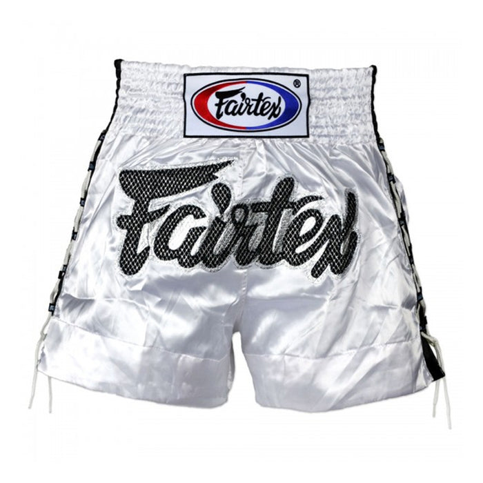 Short Fairtex para Muay Thai Lace Blanco - MMA Store Peru