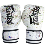 Guantes Fairtex Painter Muay Thai - Boxeo - 100% Microfibra