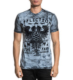 Polo Affliction Value Freedom Dusk -100% Algodón - MMA Store Peru