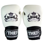 Guantes de Boxeo Top King Super Air Blanco - 100% Cuero