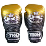 Guantes de Boxeo Top King Super Star Dorado - 100% Cuero