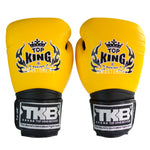 Guantes de Boxeo Top King Super Amarillo - 100% Cuero