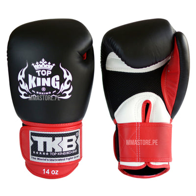 Guantes de Boxeo Top King Ultimate Negro - 100% Cuero