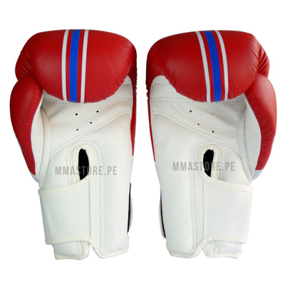 Guantes de Boxeo Top King World Series Rojo - 100% Cuero