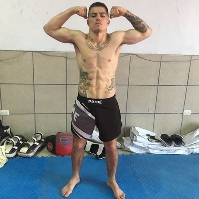 Short Pride Ultralight para Muay Thai, Kickboxing, MMA.