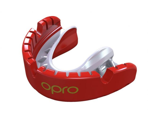 Protector Bucal OPRO para brackets UFC - Rojo - Adulto