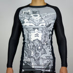 Rashguard Pride Gundam - Art Collection - 100% Poliester