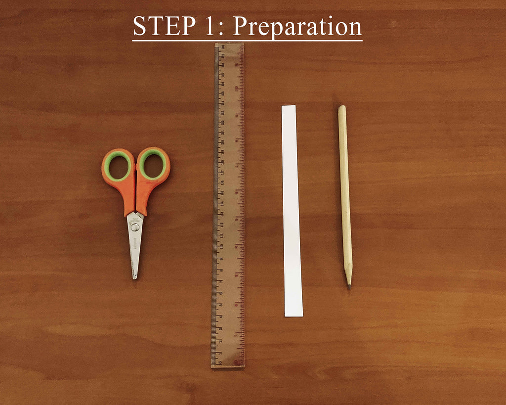 Prepare the tools that you will need in getting your bangle size such as pen, strip of paper, ruler, measurement Guide