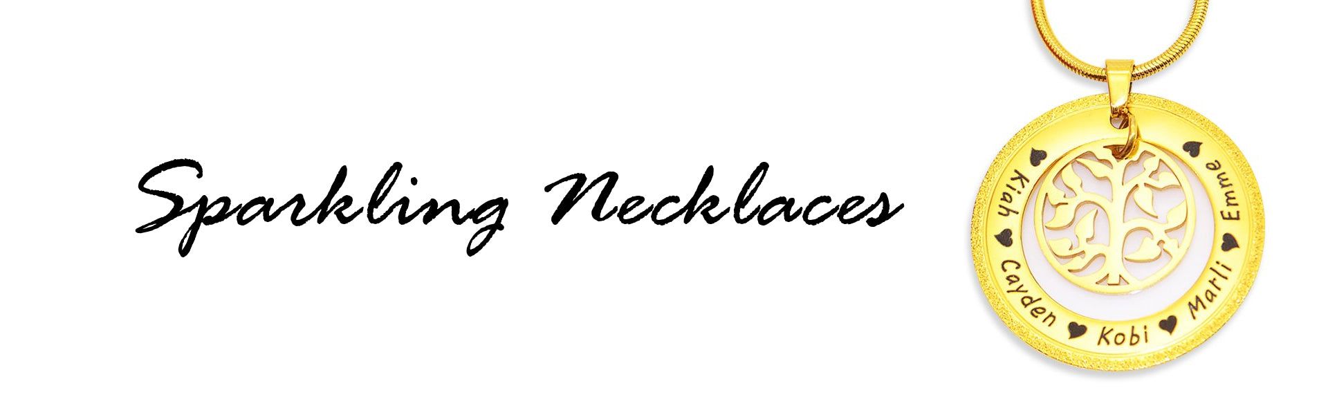 Sparkling Necklaces