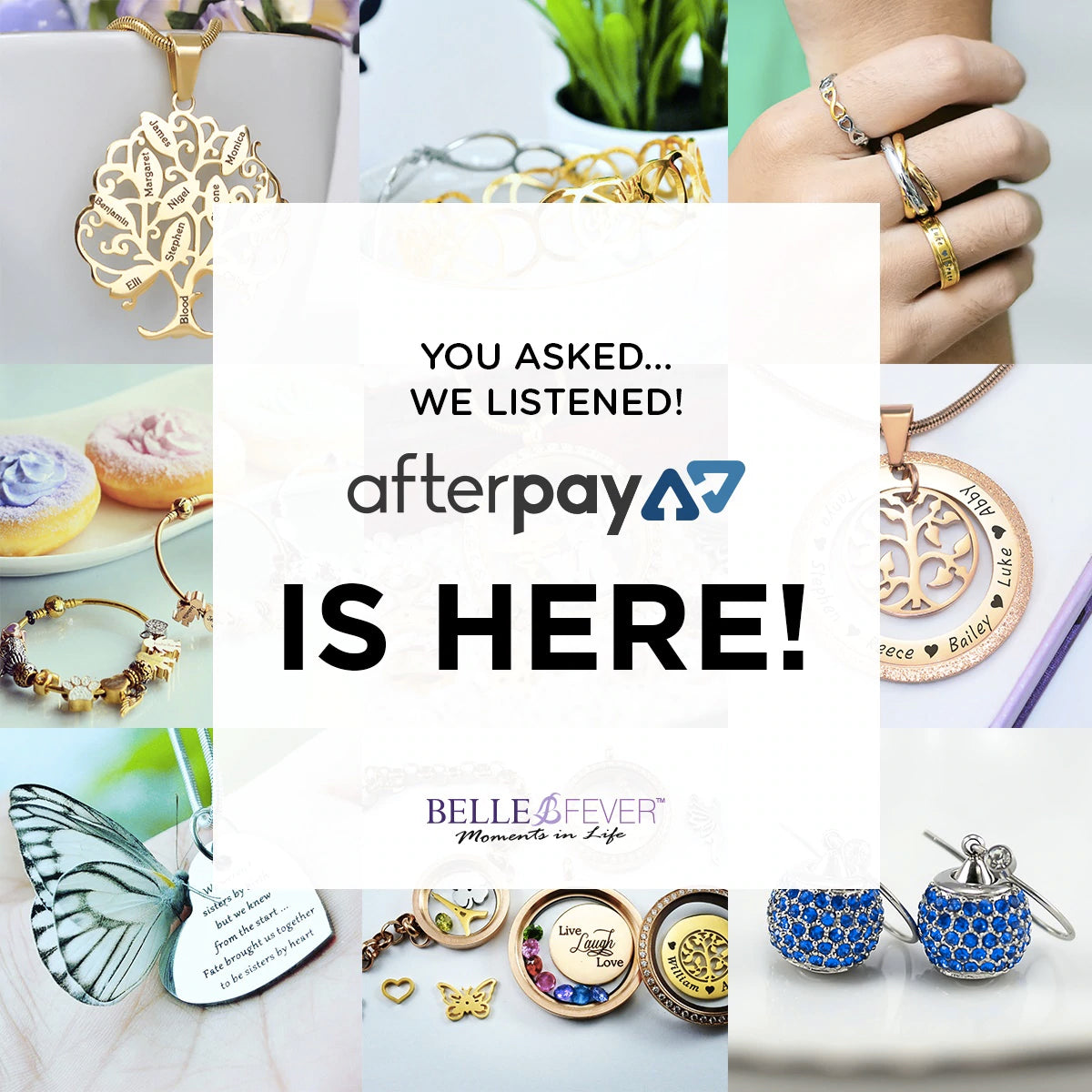 Belle Fever Afterpay