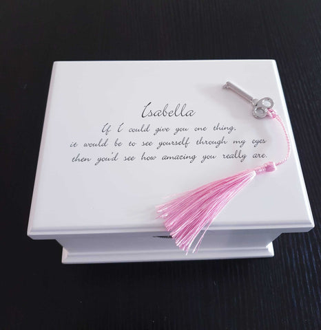 Personalised Wooden Musical Jewellery Box