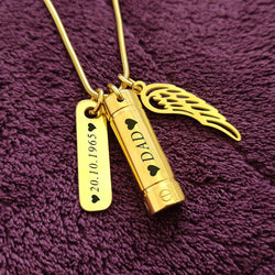 Memory Cremation Necklace