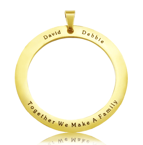 ADDITIONAL Tree of My Life WASHER ONLY-Gold- BELLE FEVER Personalised Jewellery