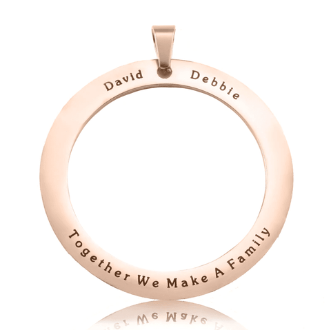 ADDITIONAL Tree of My Life WASHER ONLY-Rose Gold- BELLE FEVER Personalised Jewellery
