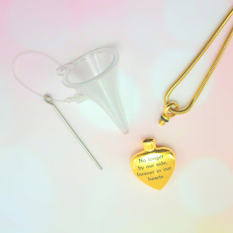 Always Love Canister Necklace-Silver- BELLE FEVER Personalised Jewellery