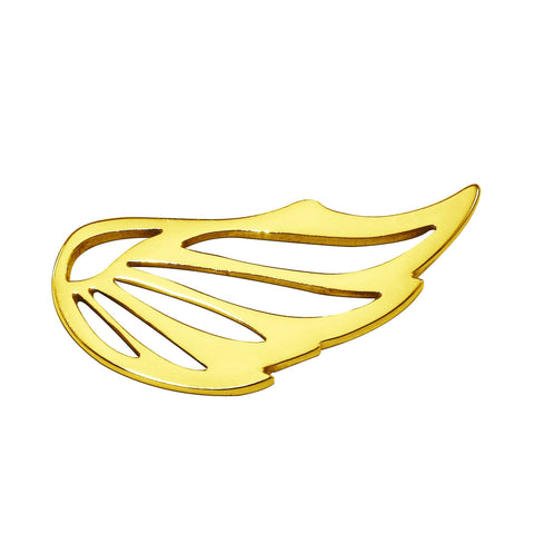 Angel Wing Charm For Dream Locket Bracelet-16mm-Gold- BELLE FEVER Personalised Jewellery