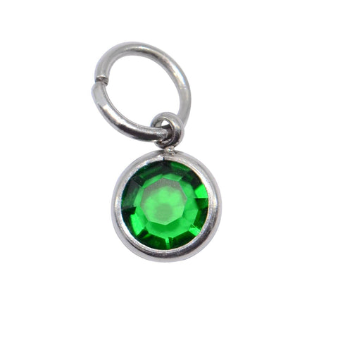 Birthstone Hanging Charm for Keyring- BELLE FEVER Personalised Jewellery