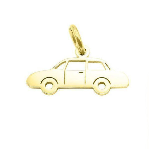 Car Charm for Keyring-Gold- BELLE FEVER Personalised Jewellery