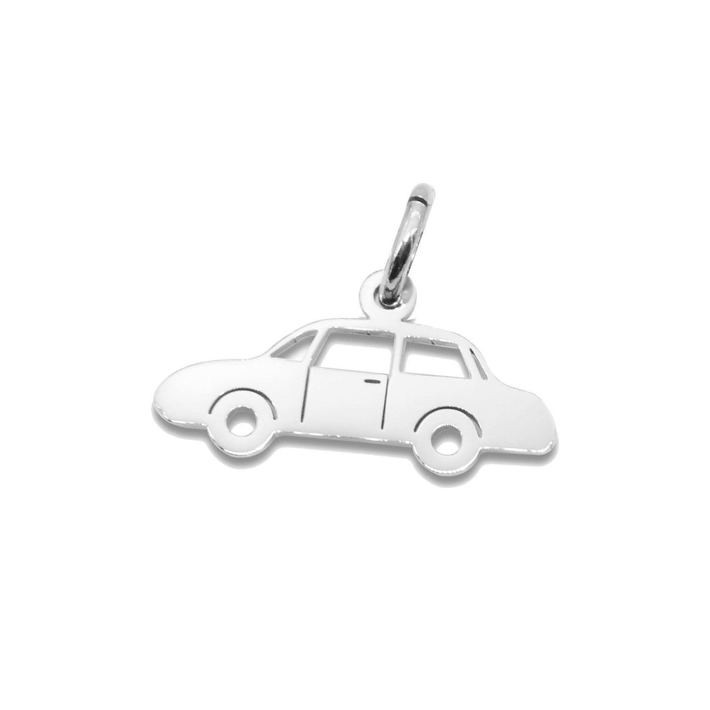 Car Charm for Keyring-Silver- BELLE FEVER Personalised Jewellery