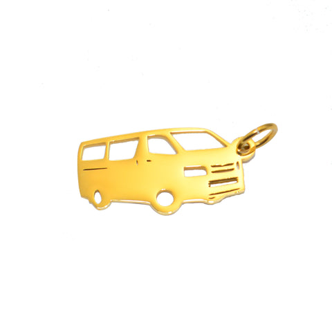 Courier Van Charm for Keyring-Gold- BELLE FEVER Personalised Jewellery
