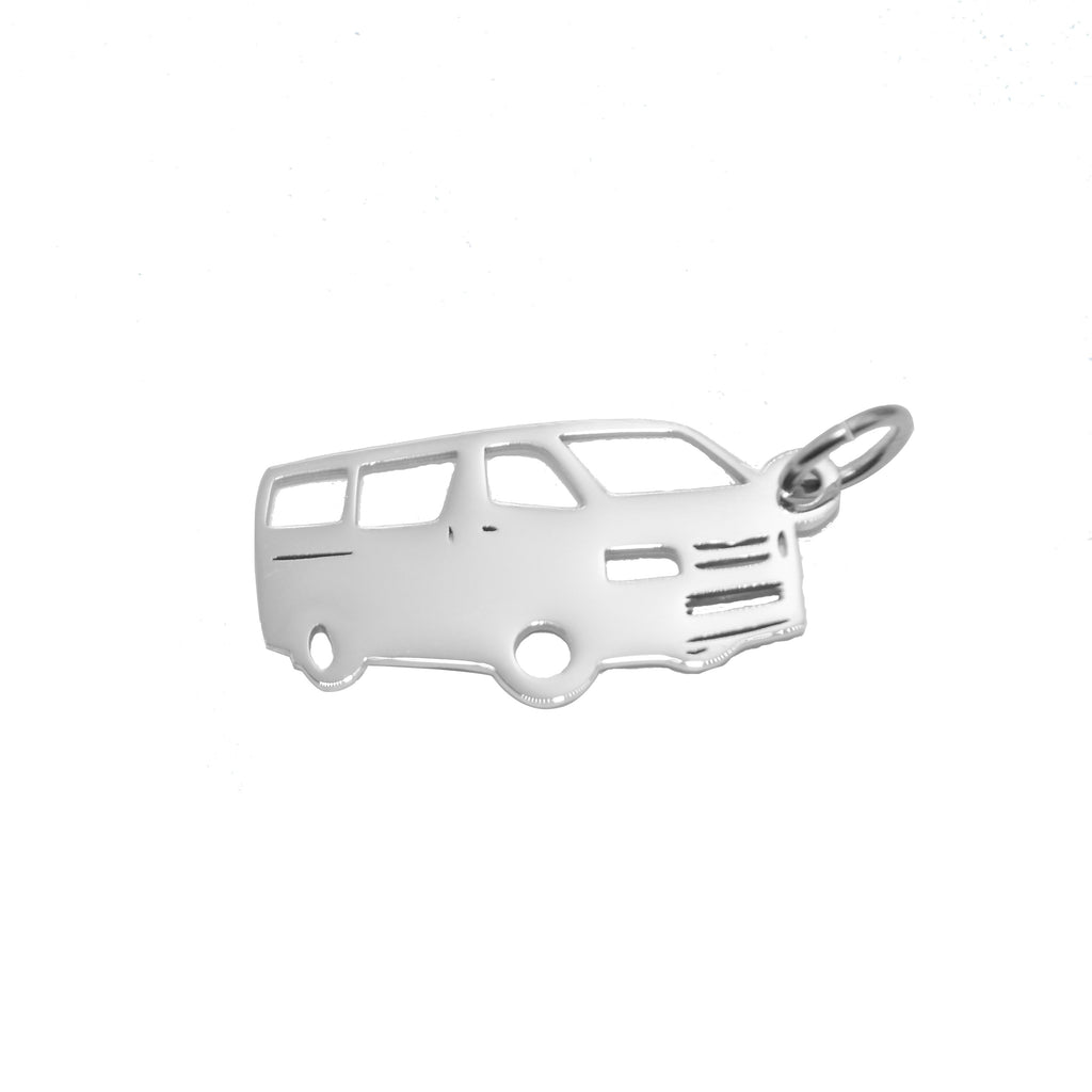 Courier Van Charm for Keyring-Silver- BELLE FEVER Personalised Jewellery