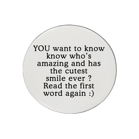 Disc Insert With Inscription for Dream Locket-21mm Medium-Silver- BELLE FEVER Personalised Jewellery