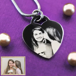 Forever in My Heart Photo Necklace