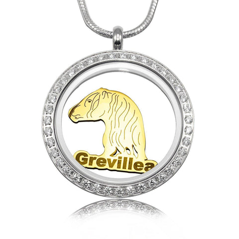 Horse Charm for Dream Locket-Gold- BELLE FEVER Personalised Jewellery