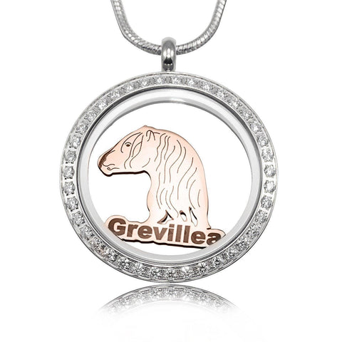 Horse Charm for Dream Locket-Rose Gold- BELLE FEVER Personalised Jewellery