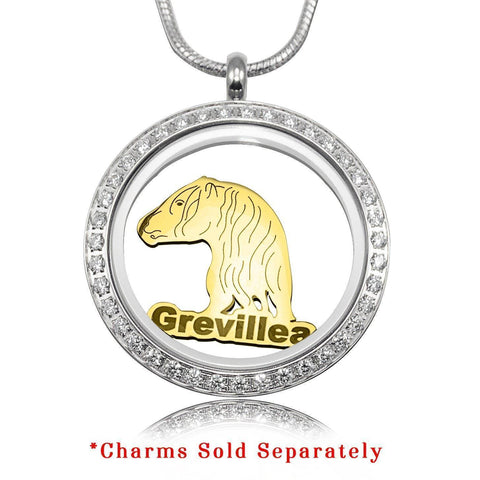 Horse Charm for Dream Locket-Silver- BELLE FEVER Personalised Jewellery