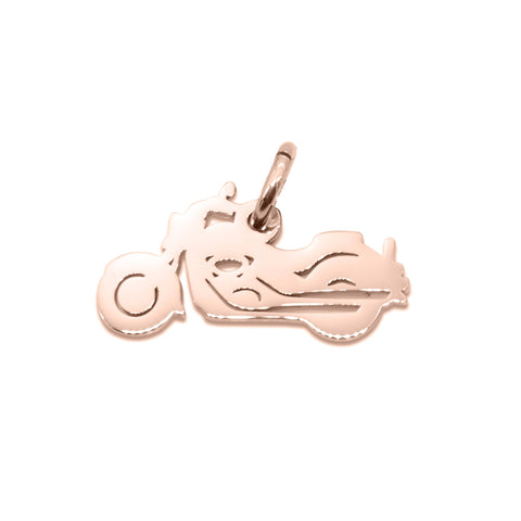 Motorbike Charm for Keyring-Rose Gold- BELLE FEVER Personalised Jewellery