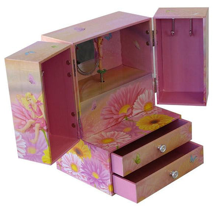 Musical Fairy Jewellery Box- BELLE FEVER Personalised Jewellery