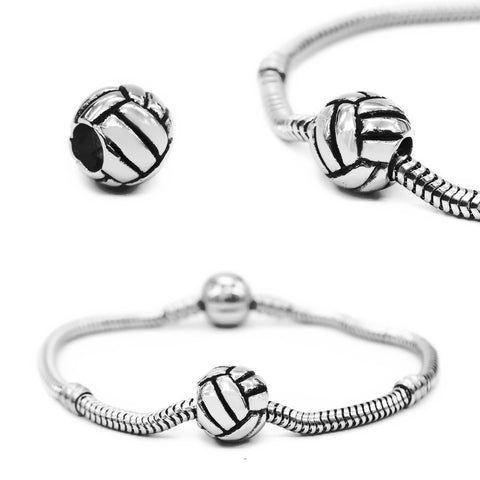 Netball Charm for Moments Bracelet- BELLE FEVER Personalised Jewellery
