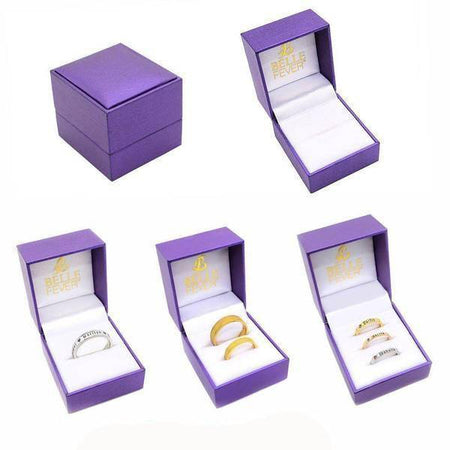 Ring Set Gift Box- BELLE FEVER Personalised Jewellery