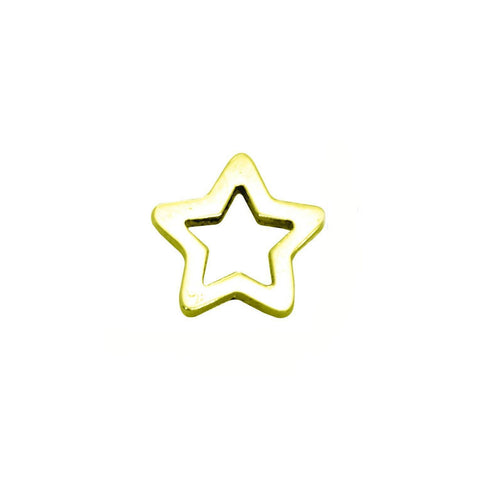 Star Charm for Dream Locket-Gold- BELLE FEVER Personalised Jewellery