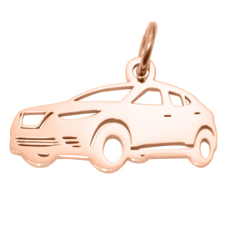 SUV Charm for Keyring-Rose Gold- BELLE FEVER Personalised Jewellery