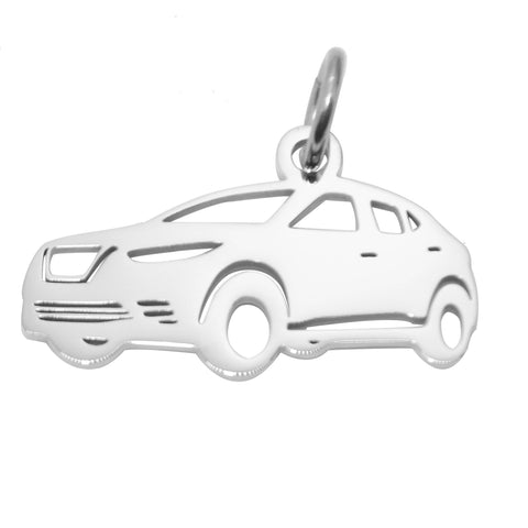 SUV Charm for Keyring-Silver- BELLE FEVER Personalised Jewellery