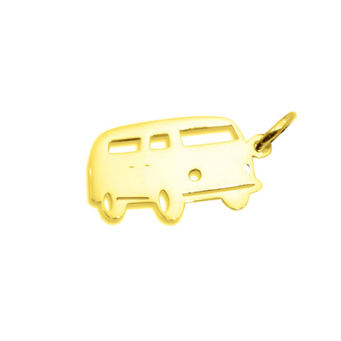 Van Charm for Keyring-Gold- BELLE FEVER Personalised Jewellery