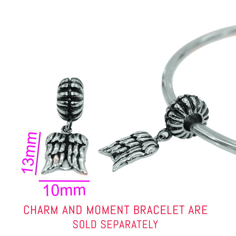 Walking Angel Charm For Moments Bracelet- BELLE FEVER Personalised Jewellery