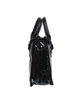 Load image into Gallery viewer, Futuristic PVC Sling - Black