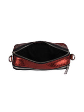 Load image into Gallery viewer, Metallic Sling with Rainbow Strap-Red