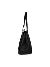 Load image into Gallery viewer, Zipper Detail Neutral Handbag-Black
