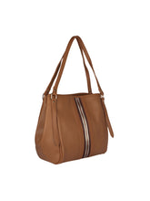 Load image into Gallery viewer, Zipper Detail Neutral Handbag-Tan