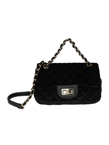 Quilted Sexy Sling-Black