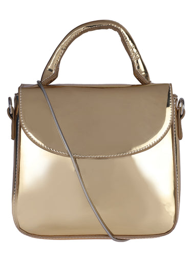 Box Metallic Sling-Gold