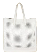 Load image into Gallery viewer, Joie de Weave Tote-White