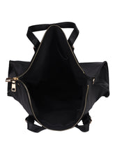 Load image into Gallery viewer, The Socialite Black Tote