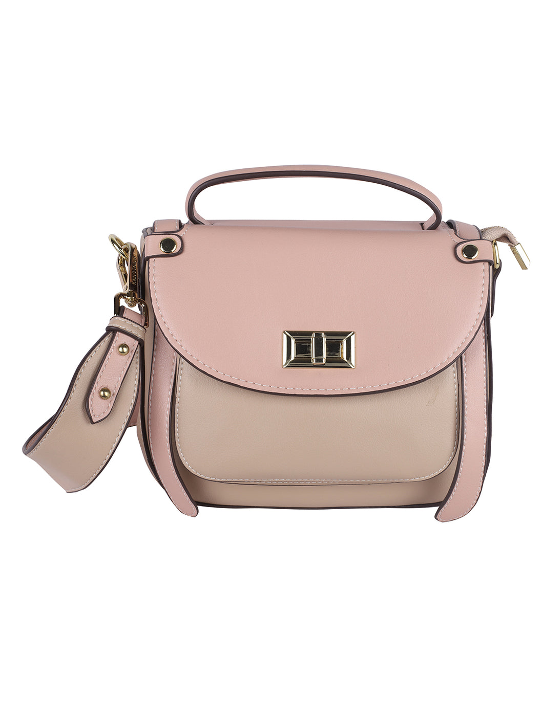 Stylish Two-toned Sling-Pink
