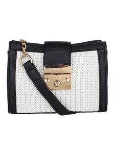 Neutral Weave Sling-Black